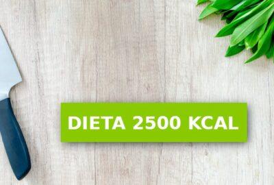 dieta 2500 kcal